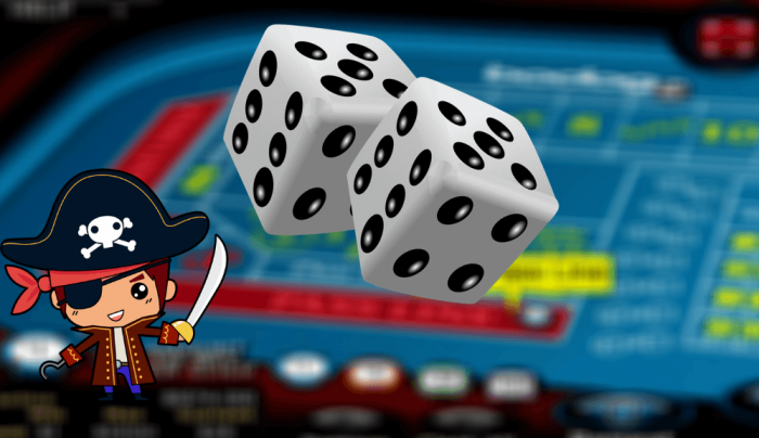 Play Craps online for fun or for money and get unforgettable experience